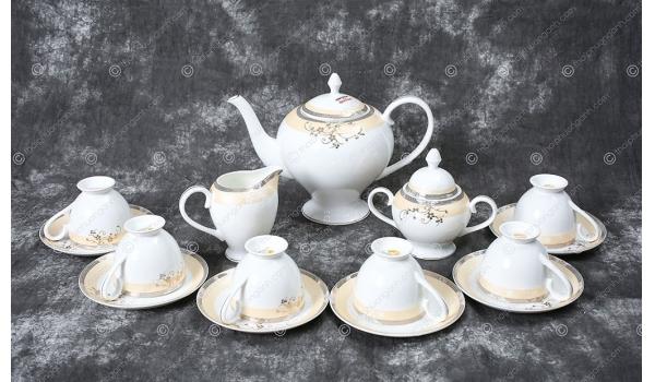 Bộ tách trà Sứ Xương 15 món F 155901F